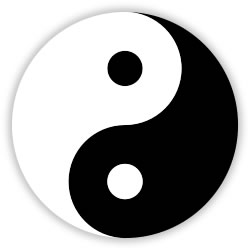 Yin and Yang, symbols of the Revolutionibus
