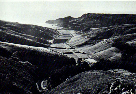 Green Gulch Valley, 1972