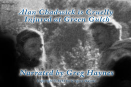 Alan Chadwick is injured at Green Gulch
